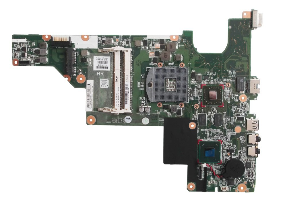ФОТО free shipping 646179-001 board for HP 2000 CQ43 CQ57 laptop motherboard with for Intel hm65 chipset 6470/512m
