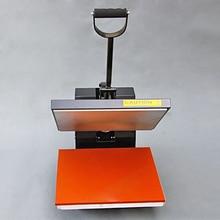 Popular polo t shirt manual heat press printing machine for sale