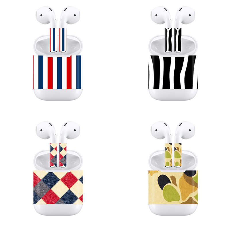 354b8f5d0f9 Colorful Drop Shipping Designs Wrap Custom Decal Vinyl Sticker For Apple  Airpods Skin Sticker