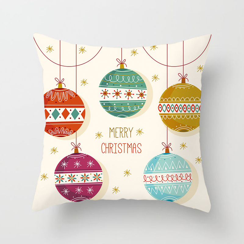 Merry Christmas Decorations For Home Decoration Noel 2018 Christmas Ornaments Christmas 2018 Decor Pillow Case Gifts Xmas Decor  (15)