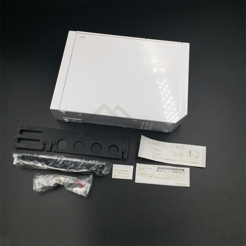 White Color Housing Shell Case Cover Replacement for Wii Game Console