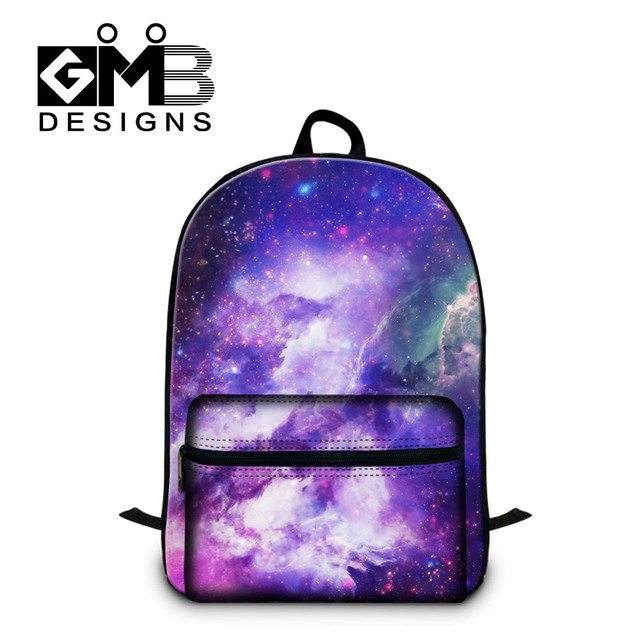 Dispalang Brand Design Laptop Backpack Galaxy Star Universe Space Pattern Kids  School Bag For Teenager Bookbag 75ef78deab563