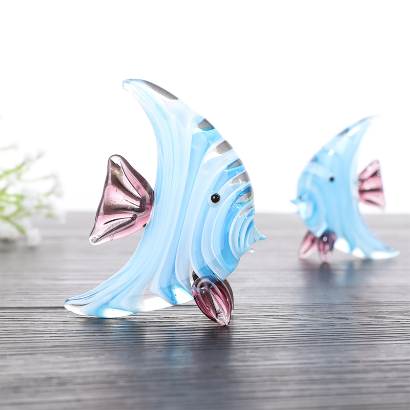 3 handmade RUSSIAN GLASS DOLPHIN FIGURINES FREE SHIPPING