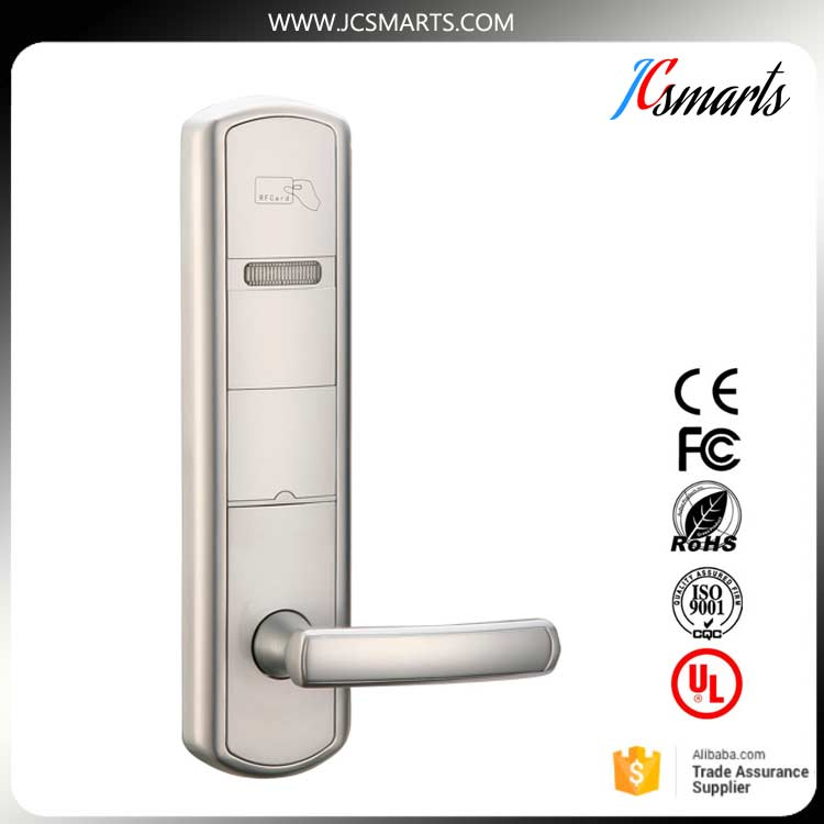 Electronic card hotel lock, electronic door lock,hotel door lock digital electric best rfid hotel electronic door lock for flat apartment
