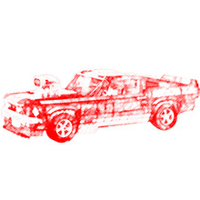 NEW 21047 1684 PCS Creator Expert Ford Mustang 1967 GT500 Compatible 10265 Building Blocks Bricks Toys For Children(China)