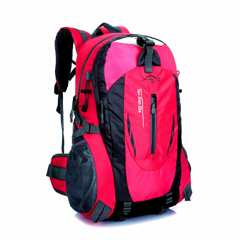40L impermeable Durable al aire libre escalada mochila mujeres hombres senderismo Atlético deporte viaje mochila de alta calidad