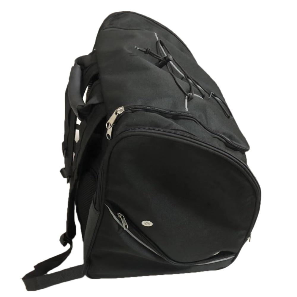 48L Professional Ice Ski 600D Nylon Snow Boots Bag Helmet Big Portable Carry Waterproof Shoulder Backpack