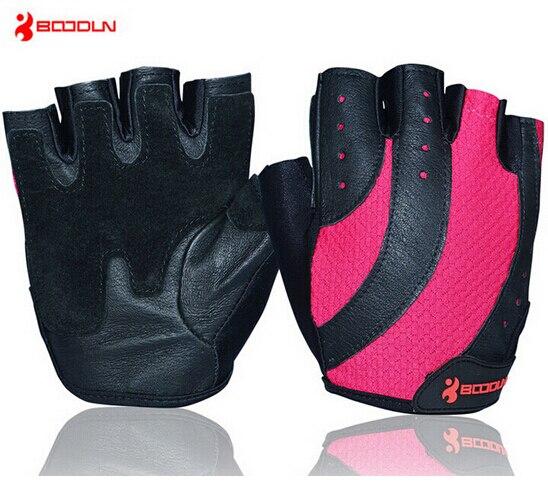Boodun Women Gym Body Building Weight Lifting Training Fitness Slip Resistant Dumbbell font b Gloves b