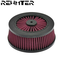 Red Air Cleaner Intake Filter Core Element Repalecment For Harley Sportster XL Dyna Softail Touring Road Street Glide 08-17 18