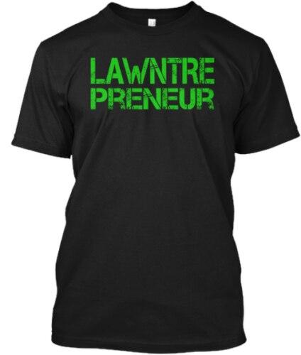 Lawntrepreneur - Share Your Passion T-shirts M-3XL US 100% cotton Men trend 2019