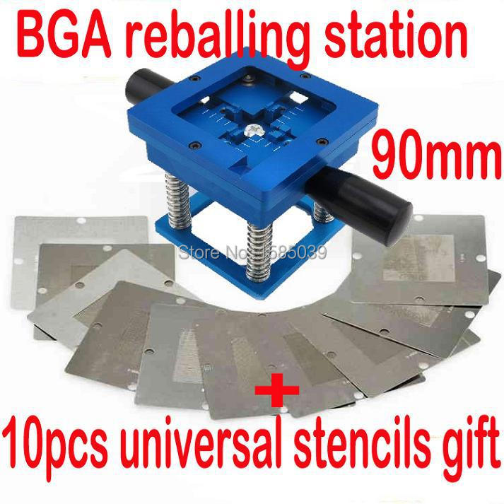 For 90mm bga template Reball NEW Easier Operation BGA Reballing Rework Station
