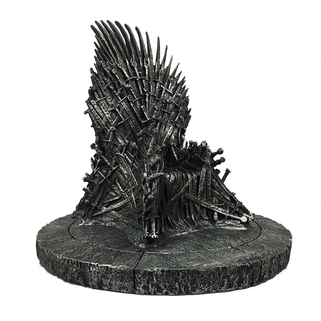 game of thrones action figure toys sword chair model toy song of ice