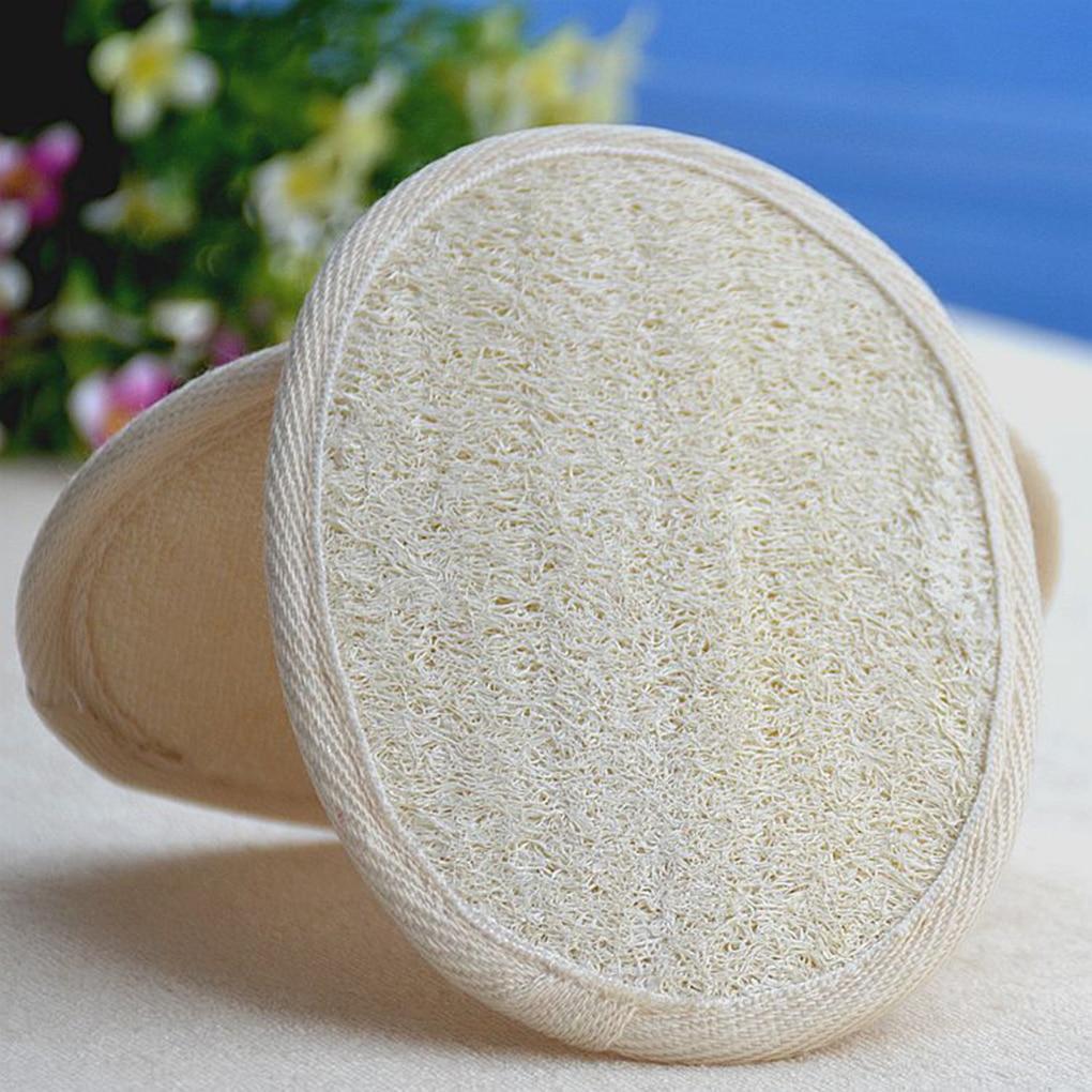 2018 1PC Brand New Natural Loofah Sponge Bath Rub Exfoliate Bath Towel