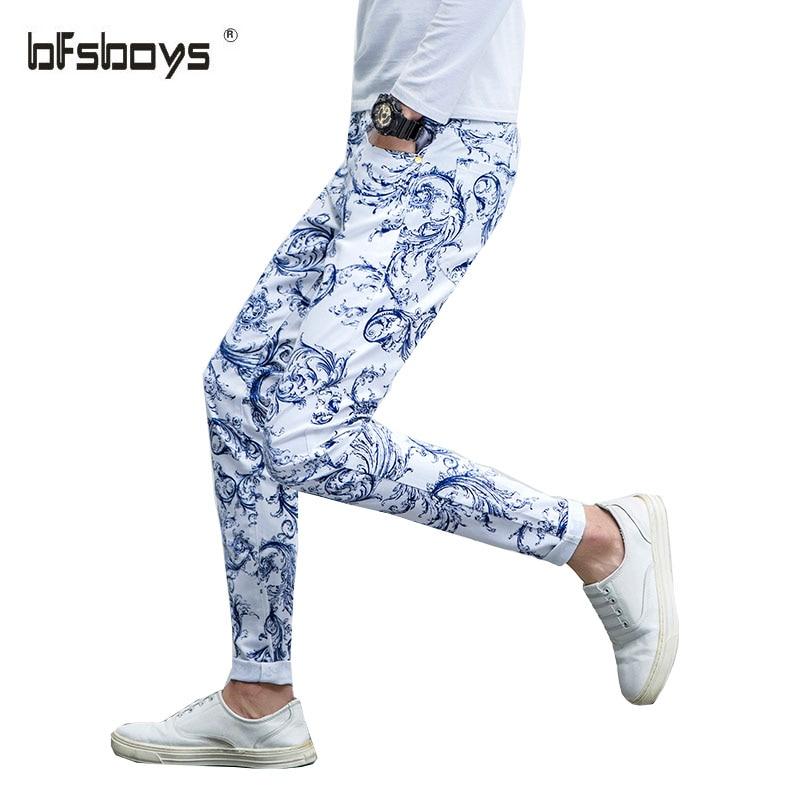 2016 New Men graffiti Jeans,Famous Brand Fashion Designer Denim Jeans Men,Hot Sale jeans Casual Denim Trousers Plus Size 29-38  new famous brand man jeans cotton fashion leisure man jeans men straight designer jeans casual jeans pant plus size