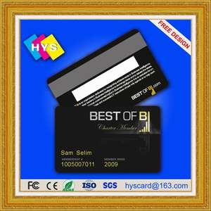 Hi-Co or Lo-Co magnetic  card ,id card printer, blank cards,,smart card supply