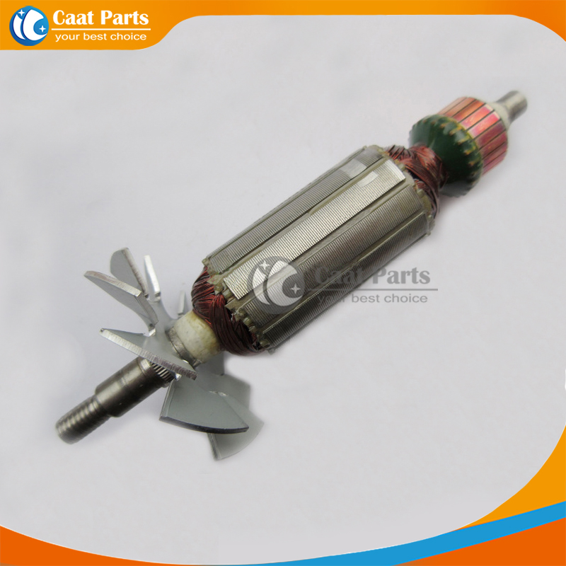Free shipping!  AC 220V  Drive Shaft Electric Planer rotor for Hitachi F-20A, High quality !  цены