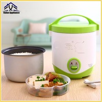 High Quality 1L Rice Cooker for Household 220v Mini Rice Cooker for two persons with free Rice spoon Steamer tray
