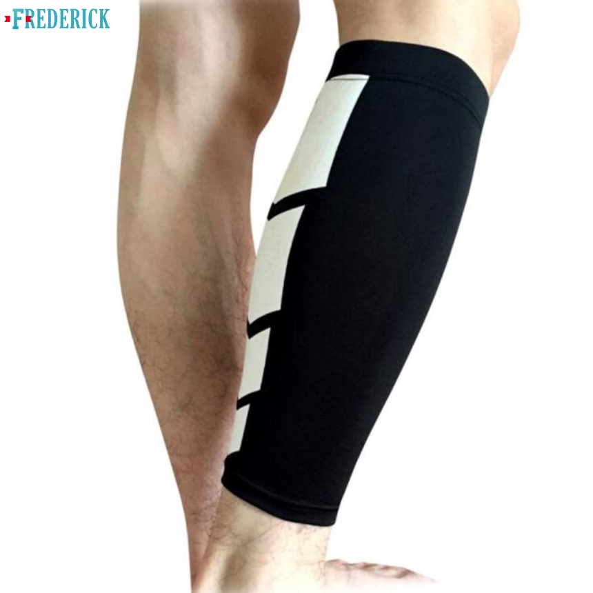 Frederick Basketball Outdoor Men Leg Warmers Sports Leg Calf Leg Brace Support Stretch Sleeve Compression Exercise Unisex