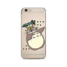 Totoro Soft Silicone Case for iPhone