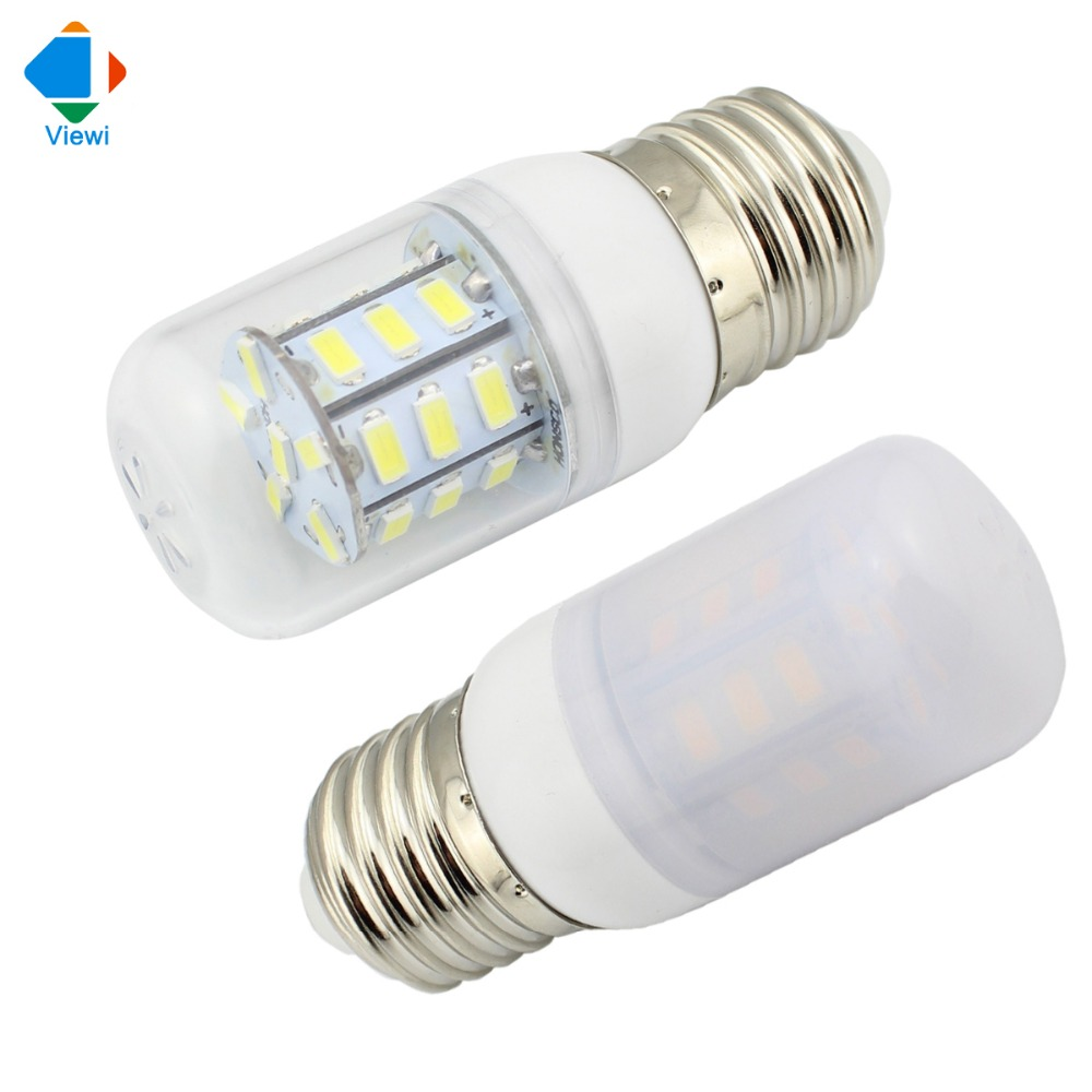 lampada led 12v corn bulb 24v bulbs light smd 5730 27leds e27 high bright transparent shell. Black Bedroom Furniture Sets. Home Design Ideas
