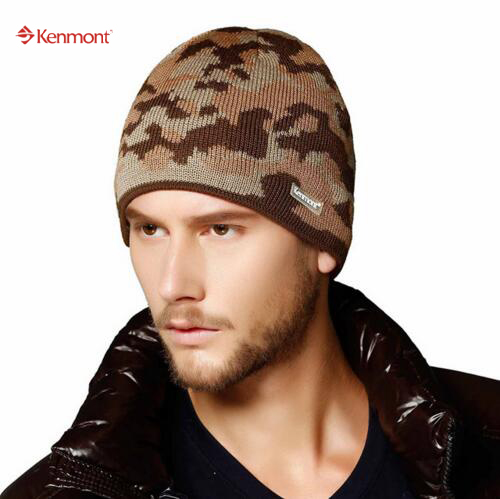 25efc95afde New Unisex Women Men Winter Earflap Camouflage Pattern Ski Beanie Caps Wool Knit  Hats For Valentines Gift 9002