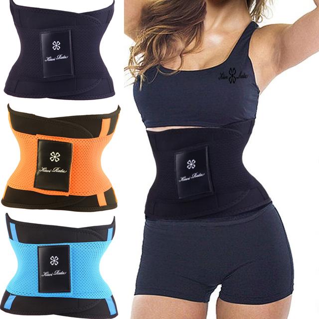 De las nuevas mujeres de cintura trainer cinturón Firm adelgaza reducir peso cincher shapers fajas corsé staylace quema el cuerpo caliente