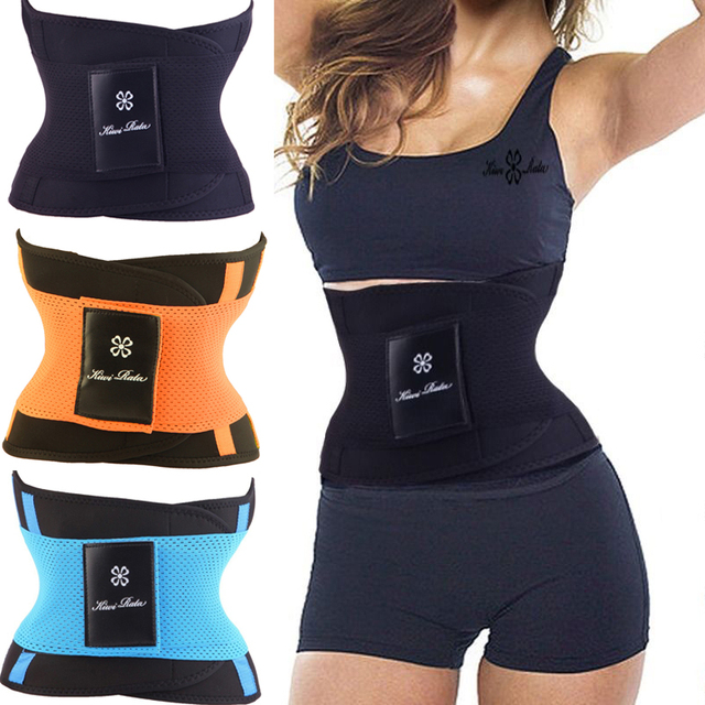 977d2d9ca0 New women s waist trainer belt slimming Firm reduce weight shapewear corset  staylace burning body hot shapers