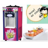 Mini ice cream maker commercial soft serve icecream machine