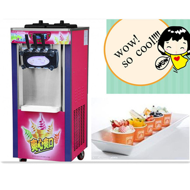 Mini ice cream maker commercial soft serve icecream machine стоимость