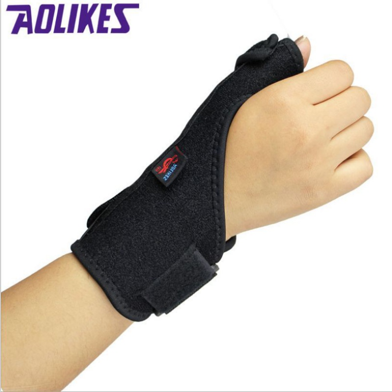 AOLIKES Adjustable Medical Sport Thumb Spica Splint Brace Support Stabiliser Wrist SportWear