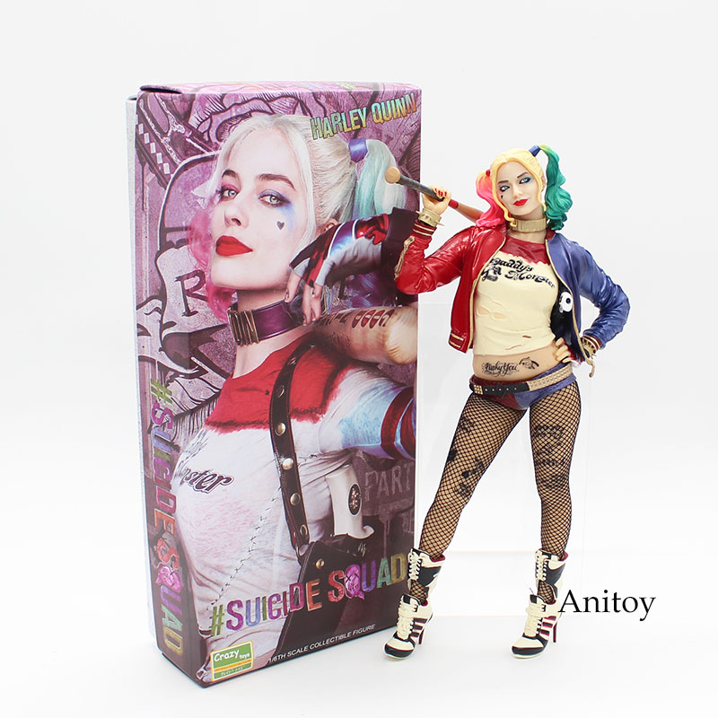цена на Crazy Toys Suicide Squad Harley Quinn 1/6th Scale Collectible Figure Model Toy 12