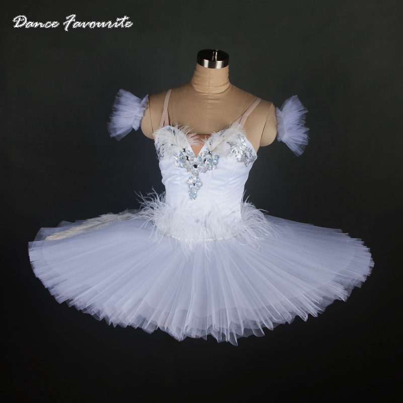 white swan classical ballet tutu, high quality for performance or competition, professional ballet tutu ballerina girl tutu