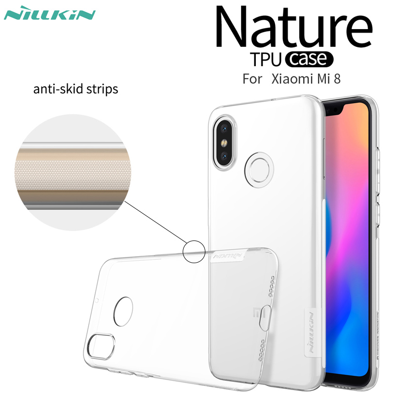Phone Bags & Cases Xiaomi Mi8 Case Nillkin Nature Tpu Transparent Clear Soft Back Cover Case For Xiaomi Mi 8 Se S Mi6 With Retailed Package Fitted Cases
