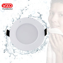 1pcs Dimbare Waterdichte LED Downlight AC110V 220V 7 W/9 W/12 W/15 W /18 W/25 W/50 W LED Lamp Licht Verzonken LED Spot Licht Voor Badkamer