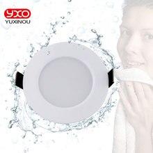 1pcs Dimmable עמיד למים LED Downlight AC110V 220V 7 W/9 W/12 W/15 W /18 W/25 W/50 W LED הנורה אור שקוע LED ספוט אור לאמבטיה