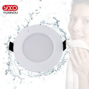 Image 1 - 1pcs 디 밍이 가능한 방수 led 통 ac110v 220 v 7 w/9 w/12 w/15 w/18 w/25 w/50 w led 전구 빛 recessed led 스포트 라이트 욕실