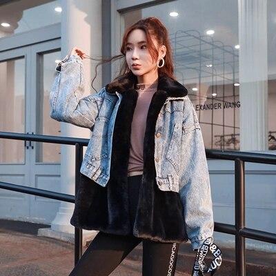 Nouveau Manteau Mode De Faux Mv Femmes rose Noir Fourrure 2018 pw6Iq5AE