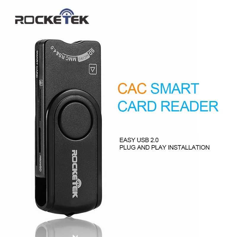 Rocketek USB 2,0 многофункциональный считыватель смарт-карт SD/TF MS M2 карта памяти micro SD, ID, банковских карт, две sim карты cloner разъем адаптера компьютера ПК