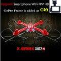 ET RC MJX X102H X101 de Actualización 2.4G 6 CANALES 6axis Drone Mantenimiento de Altitud una Tecla de Retorno RC Quadcopter RTF Puede Añadir HD Cámara VS X5C