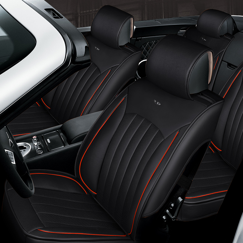 3D Styling Car Seat Cover For Honda Accord Civic CRV Crosstour Fit City HRV  Vezel,High Fiber Leather,Car Pad,auto Seat Cushions