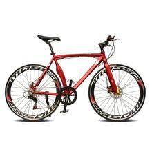 Double Disc Brake road Bike Fixie Bike Frame 52cm Frame 14 Speed Frame Bicicleta Road Bike Track Fixie Bicycle Bike