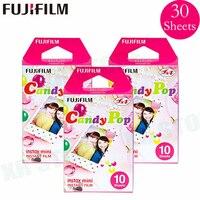Fujifilm Instax Mini 8 9 Filme Doces pop Fuji Papel Fotográfico Instantâneo 30 folhas Para 70 7 s 50 s 50i 90 25 Share SP 1 2 Câmera Lomo|Filme| |  -
