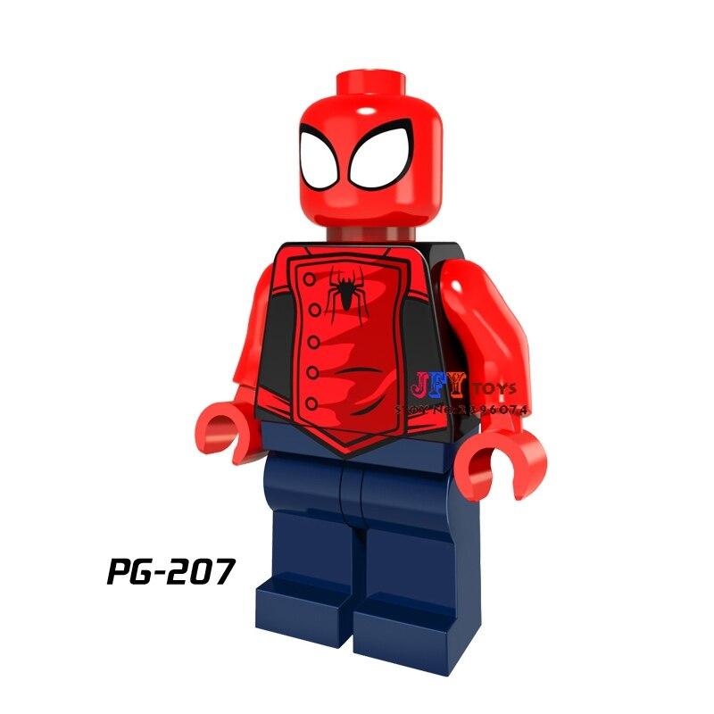 Model Building Toys & Hobbies 20pcs Starwars Superhero Marvel Spider-man Homecoming Spiderman Building Blocks Bricks Models Classic Hobby Learning Baby Toys Fast Color