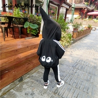 NNW Children Big Eyes Cute Hooded Coats Baby Girls Boys Sports Top Kids Autumn Outwear Casual
