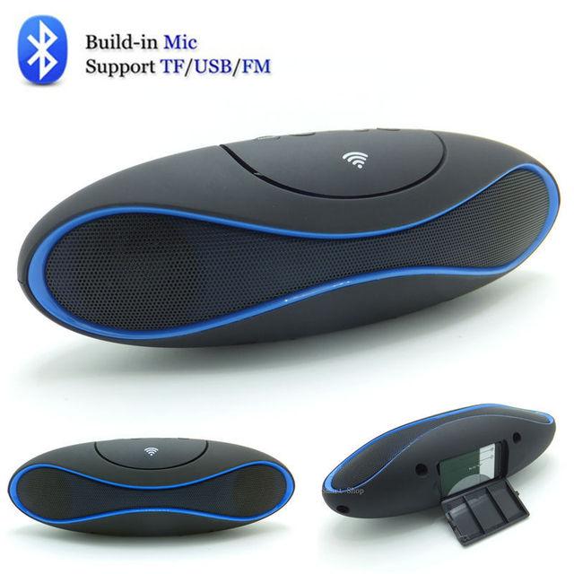 Rugby altavoz Bluetooth Speaker Sem Fio, bom som de áudio columnTF USB AUX Rádio FM Mãos-livres Portátil Mp3 Mini Subwoofer Caixa