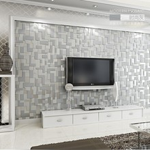 PAYSOTA Modern 3D Mosaic Wallpaper Bedroom Living Room TV Setting Sofa Background Non-woven Wall Paper Roll paysota 3d modern simple geometric graphics non woven wall paper cloth deerskin velvet bedroom tv wall paper roll