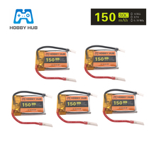 Hobby Hub 3.7V 150mah 30C Lipo Battery For Syma S107 S107G S