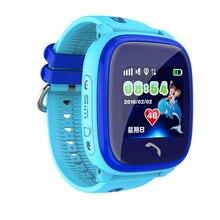 Продажа Df25 Смарт-часы IP67 Водонепроницаемый дети ребенок SmartWatch GPS сенсорный телефон SOS вызова расположение устройства трекер дети Безопасный Мониторы