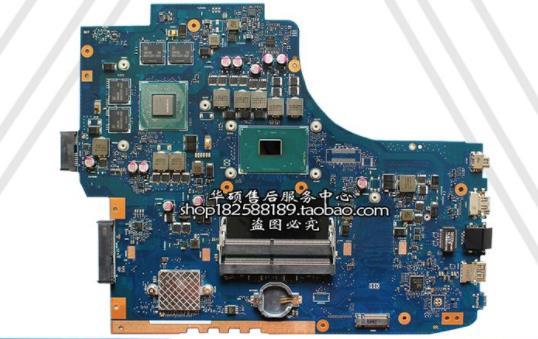 For ASUS UX501J UX50JW N501J N501JW Motherboard W// i7 CPU rev2.1 Mainboard 4GB