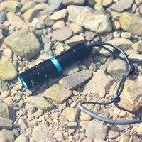 XM L2 T6 LED Dive diver Unterwasser Wasserdichte Taschenlampe Lampe Licht-in LED-Taschenlampen aus Licht & Beleuchtung bei